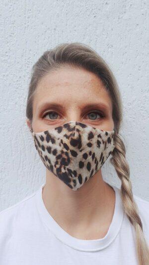 Mascherine Leopard donna
