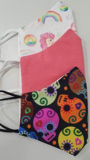 Mascherine lavabili colorate Pescara