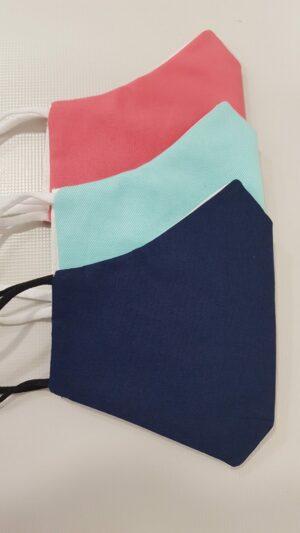 Mascherine lavabili Pescara colorate
