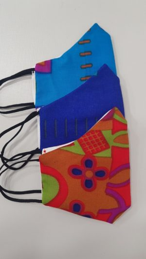 Mascherine lavabili colorate