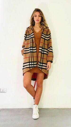 Cappotto in lana e cashmere